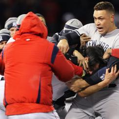 red sox, yankees, yankees red sox brawl, tyler austin, joe kelly