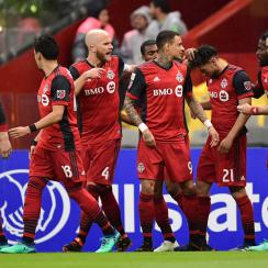Toronto FC plays Chivas Guadalajara in the CCL final