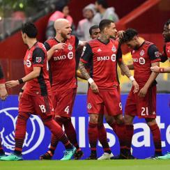 Toronto FC plays Chivas Guadalajara in the CCL final