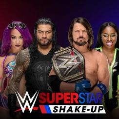 WWE roster changes:  Raw, SmackDown Superstar Shakeup results