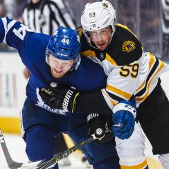 Maple Leafs vs. Bruins