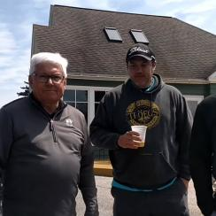 A frame from the video of the incident at Grandview Golf Club posted on Youtube.