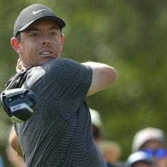Rory McIlroy opened the Wells Fargo Championship with a three-under 68.
