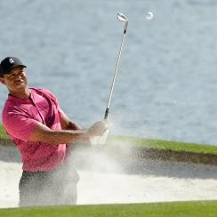 Tiger Woods round recap scorecard analysis wells fargo thursday