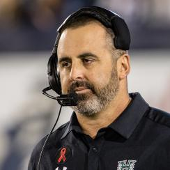 Hawaii Coach, Nick Rolovich, Oregon State, hawaii Recruiting, lavar ball, Hawaii Nick Rolovich