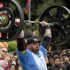 "Hafthor ""The Mountain"" Bjornsson wins World's Strongest Man"