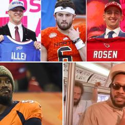 Denver Broncos vs. New England Patriots, NFL Week 10