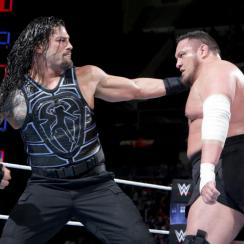 WWE fans leave during Roman Reigns-Samoa Joe Backlash match