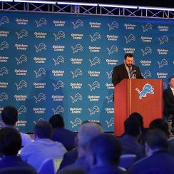 Detroit Lions Introduce Matt Patricia