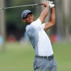 Woods had it going early on in his third round at the Players Championship.