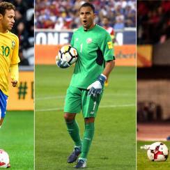 Neymar, Keylor Navas and Birkir Bjarnason will be playing at the World Cup