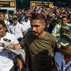 Peru's Paolo Guerrero is banned for the World Cup