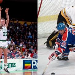 Larry Bird, Wayne Gretzky and Charles Pierce's best day as a sportswriter