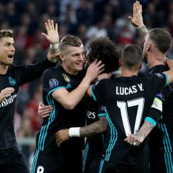 Real Madrid is looking to win a third straight Champions League title