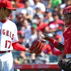 shohei ohtani, Angels, Martin Maldonado shoei ohtani Spanish, Los Angeles Angels