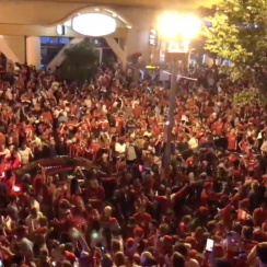 Capitals fans celebrate Game 7 win vs Lightning (photos)