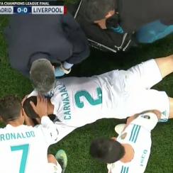 champions league, champions league final, liverpool, real madrid, dani carvajal, Mo Salah, mohamed salah, dani carvajal injury updates