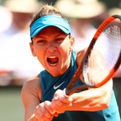 Simona Halep Sloane Stephens french open final