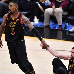"J.R. Smith nearly tweeted ""Cavs in 7"""