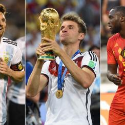Argentina, Belgium and Germany are among the contenders for the World Cup title.