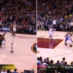 Kevin Durant shot video: 2018 NBA Finals vs 2017 dagger