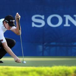 """""""If you like the guy you might leave it to help on a shot,"""" Jimmy Walker says of marking (or not marking) his ball."""