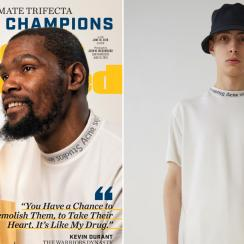 Kevin Durant shirt on Sports Illustrated cover cost $190