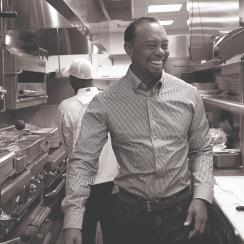 Tiger Woods The Woods Restaurant Jupiter Florida