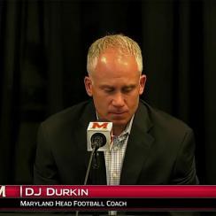 DJ Durkin talking Jordan McNair's death