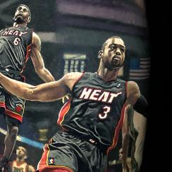 Dwyane Wade, LeBron James,  Dwyane Wade, LeBron James Tattoo, miami heat, heat, miami, lebron james heat, cavaliers, cavs