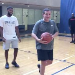 Ted Cruz vs. Jimmy Kimmel basketball game