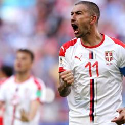 Alekasandar Kolarov scores a great goal for Serbia vs. Costa Rica at the World Cup