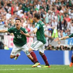 Mexico beats Germany at the 2018 World Cup