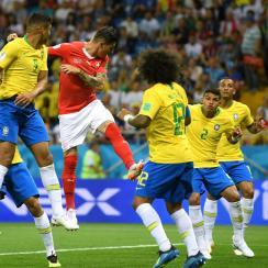 Brazil draws Switzerland at the 2018 World Cup