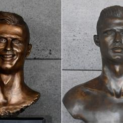 Cristiano Ronaldo airport statue replaced (photo)