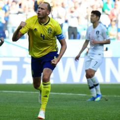 Sweden takes the lead on South Korea at the World Cup