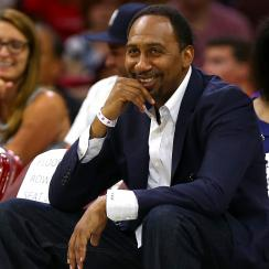 Stephen A. Smith: ESPN host's thoughts on almond milk