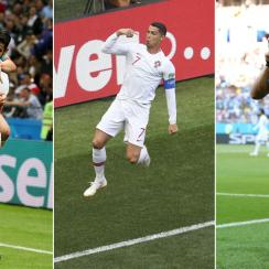 Spain, Portugal and Uruguay all won 1-0 at the World Cup