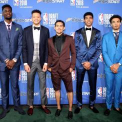 2018 NBA draft outfits
