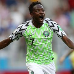 Ahmed Musa scores for Nigeria vs. Iceland in the World Cup