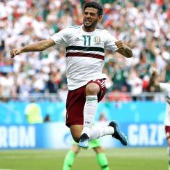 Carlos Vela scores for Mexico vs. South Korea at World Cup