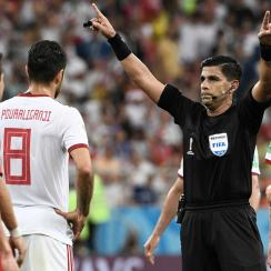 Portugal and Iran's World Cup match was clouded by VAR controversy