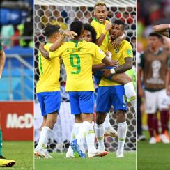 Germany is out, while Mexico and Brazil will face each other in the World Cup last 16