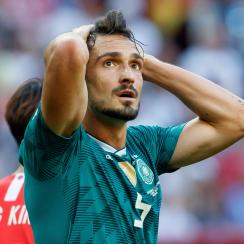 Germany falls out of the World Cup
