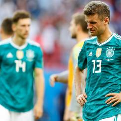 Germany has been eliminated from the World Cup