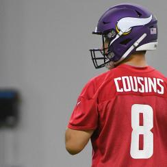 NFL: MAY 30 Vikings OTA