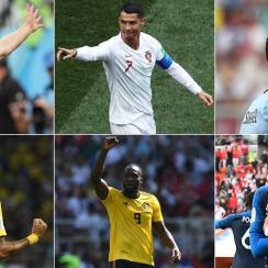 Six of the World Cup's top teams are on one side of the knockout bracket