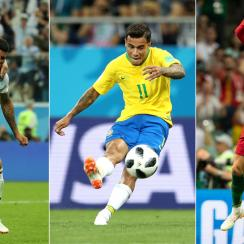 Messi, Coutinho and Ronaldo all scored great goals at the World Cup