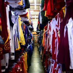 Sports Studios: Inside an L.A. sports movie memorabilia warehouse
