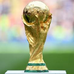 The World Cup trophy will be handed out in Moscow on July 15